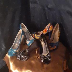 Three pair of heels